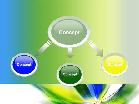 Leaf Design Motif PowerPoint Template, Slide 4, 08259, Abstract/Textures — PoweredTemplate.com