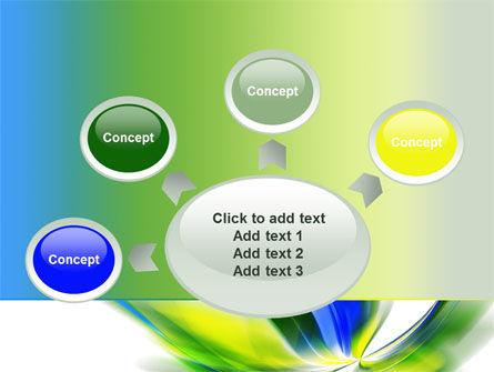 Leaf Design Motif PowerPoint Template Slide 7