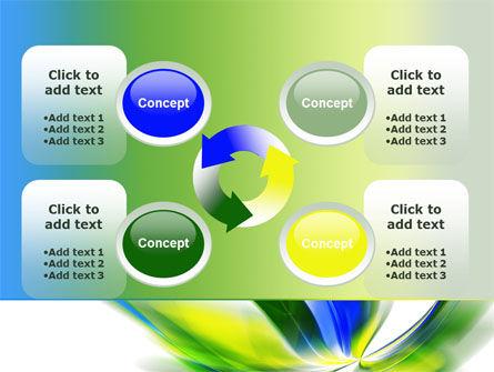 Leaf Design Motif PowerPoint Template Slide 9