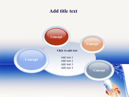 Mineral Water PowerPoint Template Slide 16