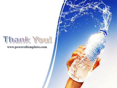 Mineral Water PowerPoint Template Slide 20