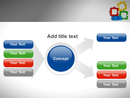 Square Puzzles PowerPoint Template Slide 14