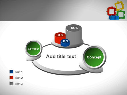 Square Puzzles PowerPoint Template Slide 16