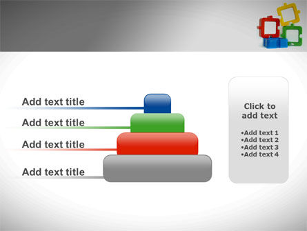 Square Puzzles PowerPoint Template Slide 8