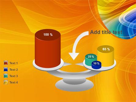 Rainbow Smoke PowerPoint Template Slide 10