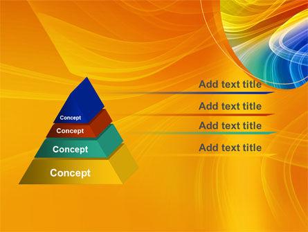 Rainbow Smoke PowerPoint Template Slide 12