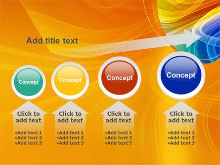 Rainbow Smoke PowerPoint Template Slide 13