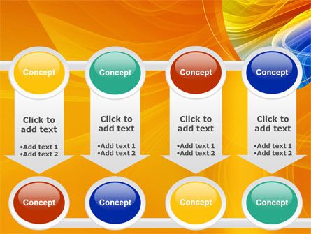 Rainbow Smoke PowerPoint Template Slide 18