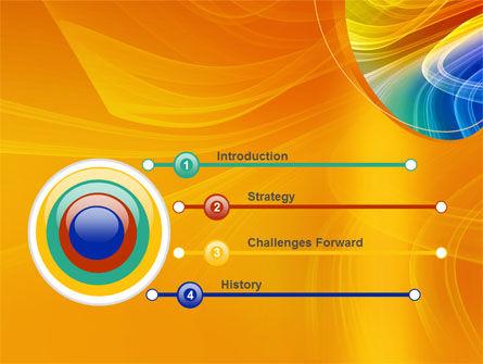 Rainbow Smoke PowerPoint Template, Slide 3, 08266, Abstract/Textures — PoweredTemplate.com