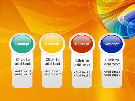 Rainbow Smoke PowerPoint Template Slide 5
