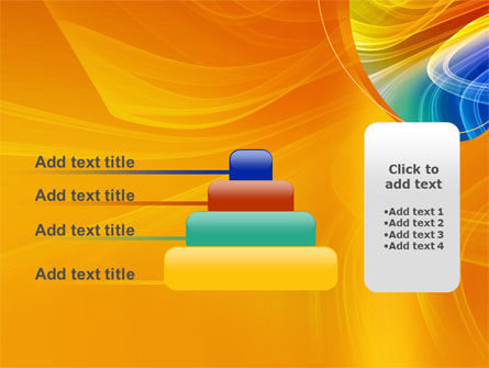 Rainbow Smoke PowerPoint Template Slide 8