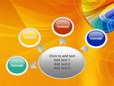 Rainbow Smoke PowerPoint Template#7