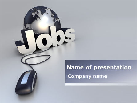 Online Job Search PowerPoint Template