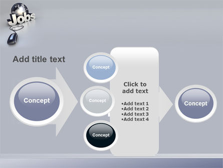 Online Job Search PowerPoint Template Slide 17