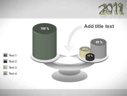 Financial Year 2011 PowerPoint Template Slide 10