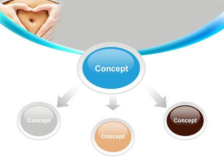 Belly Heart PowerPoint Template, Slide 4, 08270, Medical — PoweredTemplate.com