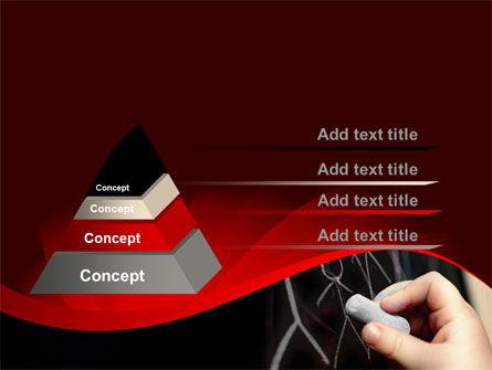 Blackboard Drawing PowerPoint Template Slide 12