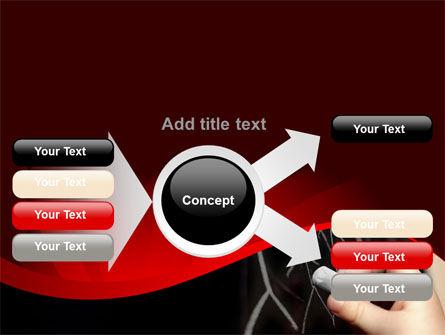 Blackboard Drawing PowerPoint Template Slide 14