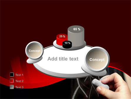 Blackboard Drawing PowerPoint Template Slide 16
