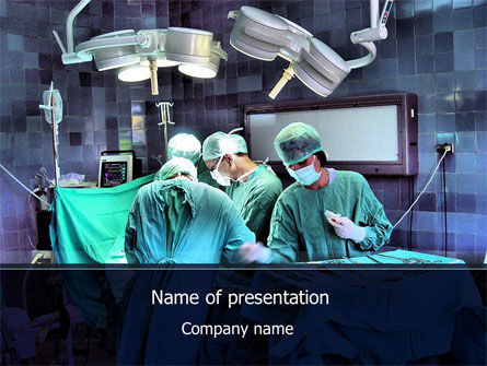 Surgical Procedure PowerPoint Template, 08272, Medical — PoweredTemplate.com