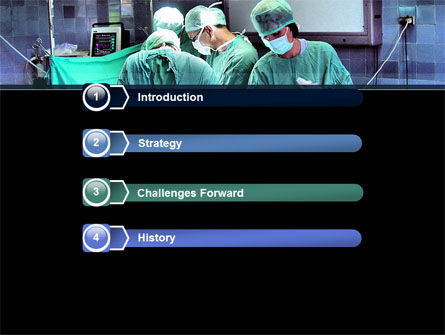 Surgical Procedure PowerPoint Template, Slide 3, 08272, Medical — PoweredTemplate.com
