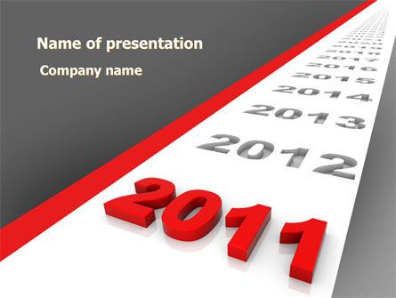 Consulting: Upcoming Decade PowerPoint Template #08273