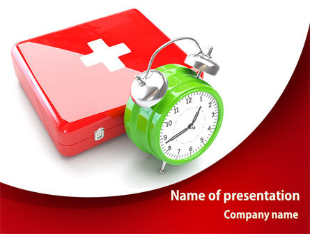 Medical Emergency PowerPoint Template, 08280, Medical — PoweredTemplate.com