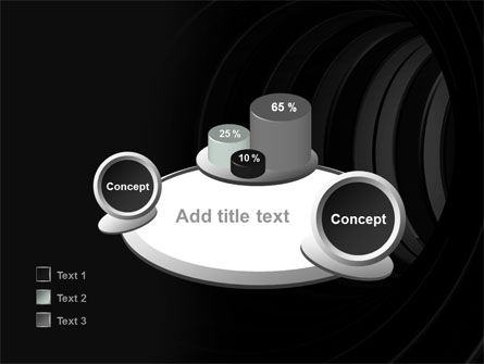 Tunnel PowerPoint Template Slide 16