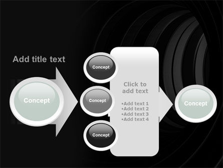 Tunnel PowerPoint Template Slide 17