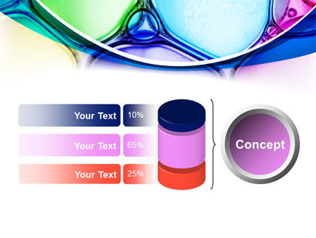 Colorful Bubbles PowerPoint Template Slide 11