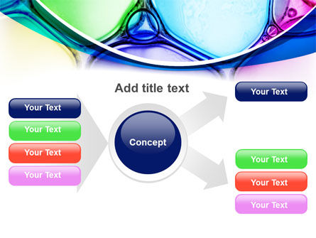 Colorful Bubbles PowerPoint Template Slide 14