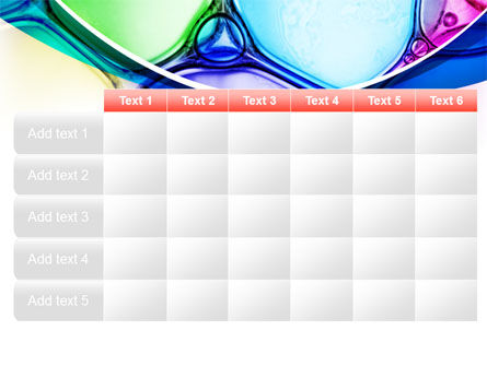 Colorful Bubbles PowerPoint Template Slide 15