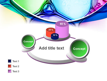 Colorful Bubbles PowerPoint Template Slide 16