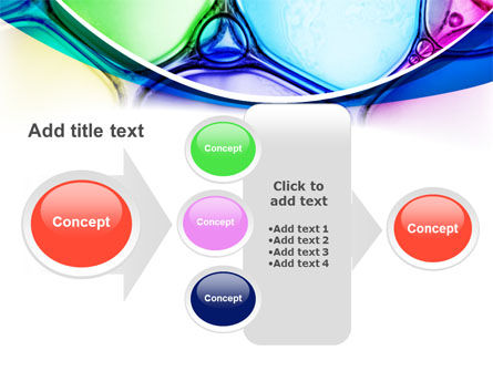 Colorful Bubbles PowerPoint Template Slide 17
