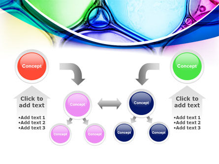 Colorful Bubbles PowerPoint Template Slide 19