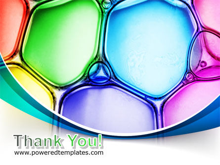 Colorful Bubbles PowerPoint Template Slide 20