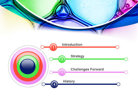 Colorful Bubbles PowerPoint Template, Slide 3, 08284, Abstract/Textures — PoweredTemplate.com