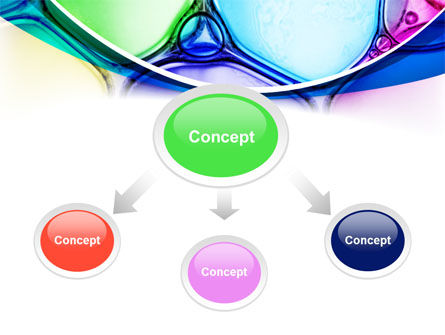 Colorful Bubbles PowerPoint Template, Slide 4, 08284, Abstract/Textures — PoweredTemplate.com