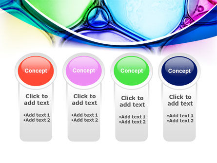 Colorful Bubbles PowerPoint Template Slide 5