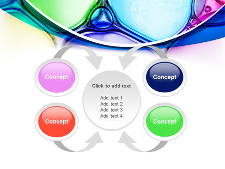 Colorful Bubbles PowerPoint Template Slide 6