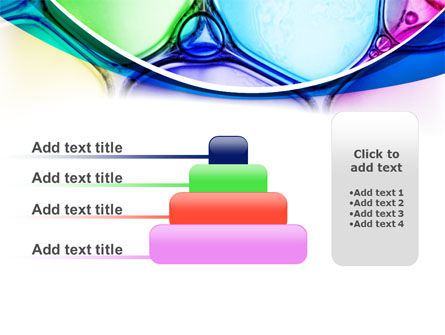 Colorful Bubbles PowerPoint Template Slide 8