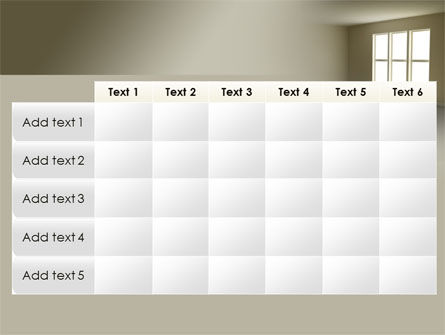 Empty Room PowerPoint Template Slide 15