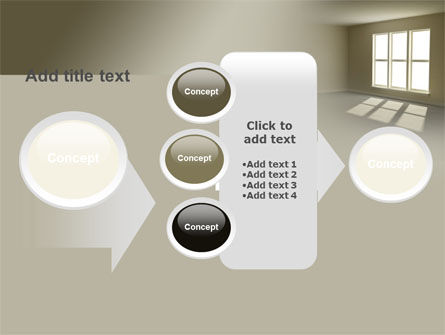 Empty Room PowerPoint Template Slide 17