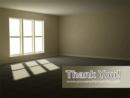 Empty Room PowerPoint Template Slide 20