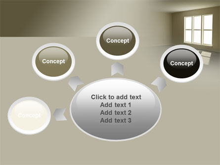 Empty Room PowerPoint Template Slide 7