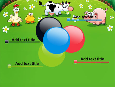 Funny Farm PowerPoint Template Slide 10