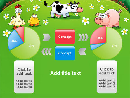 Funny Farm PowerPoint Template Slide 11