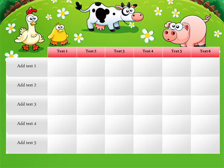Funny Farm PowerPoint Template Slide 15