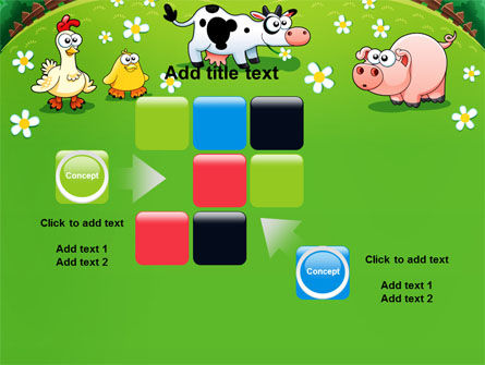 Funny Farm PowerPoint Template Slide 16
