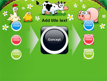 Funny Farm PowerPoint Template Slide 17